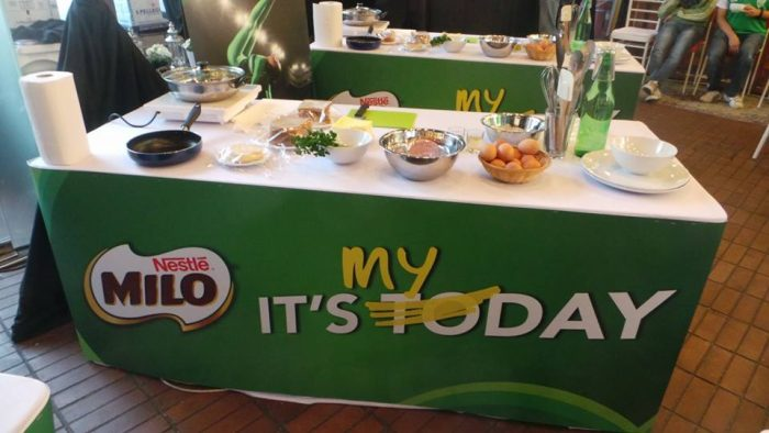 Milo It's MyDay, MILO Breakfast Movement 2016