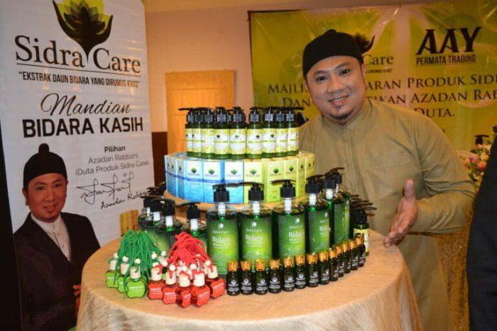 Azadan Rabbani Duta Produk Sidra Care