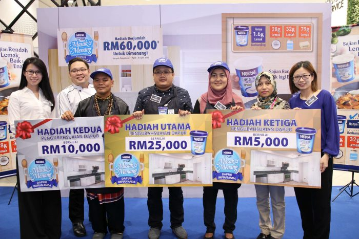 Juara Nestlé Natural Set Yogurt Masak & Menang