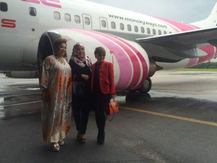 Shila Amzah Duta Malaysia MONSPACE SKY AIRLINES