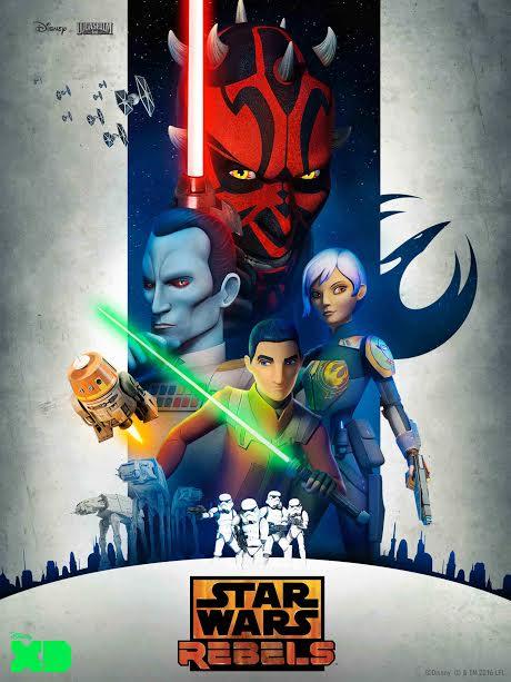 Star Wars Rebels S3 di Disney XD Mulai 15 Oktober 2016