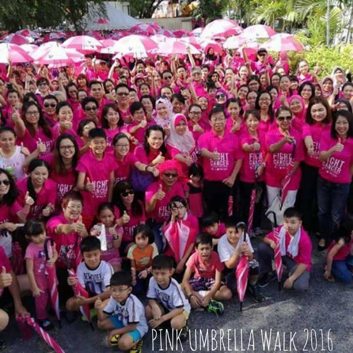 2016 Pink Umbrella Walk