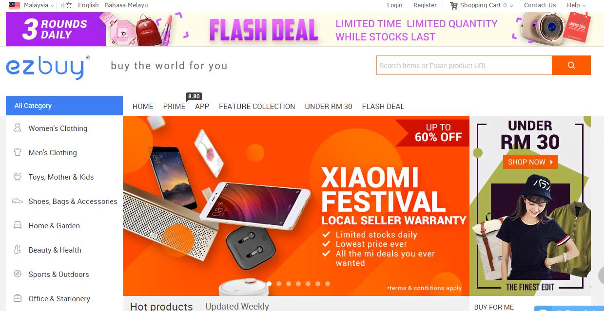 437d61b846 Seronok Shopping di Ez Buy Online Malaysia