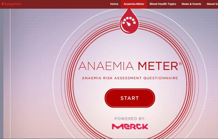 Anemia Meter di Sangobion.com.my Bakal Memberitahu ...
