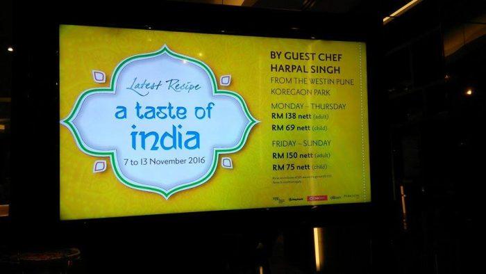Makanan Dari Northern India di Latest Recipe, Le MeridienMakanan Dari Northern India di Latest Recipe, Le Meridien