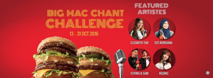 McDonald's Big Mac Chant Challenge!