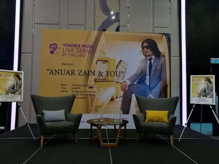 """Konsert """"Anuar Zain & You"""" Di Panggung Anniversari, 21 Januari 2017"""
