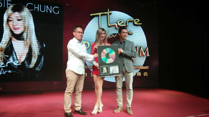 Album Jessie Chung There You Are Terima Platinum Awards