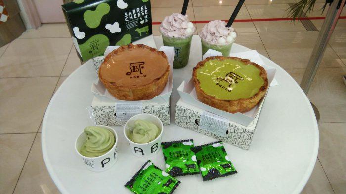Pablo Baked CheeseTart Matcha Buat Peminat Green Tea