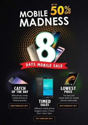 8 Days of Mobile Madness Kempen Terbaru dari Shopee