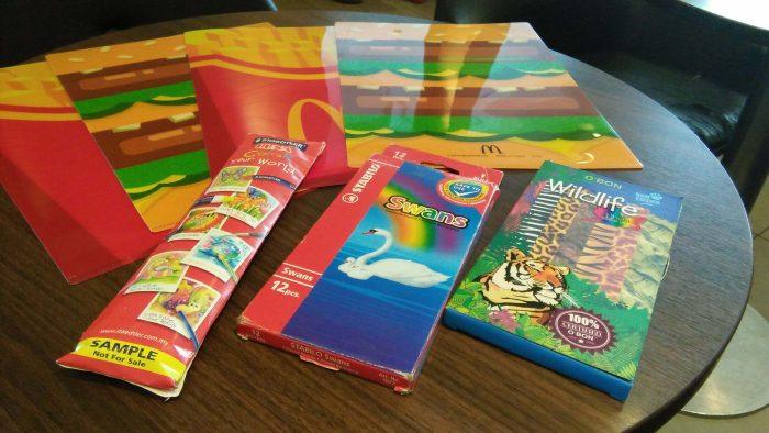Colouring Contest di Mcdonald Kota Damansara