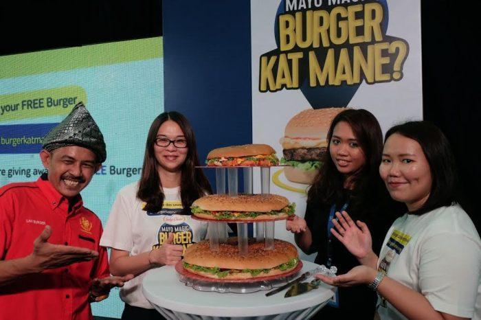 Burger Kat Mane,, Laman Web Portal Buat Penggemar Burger