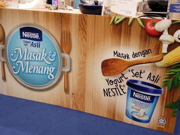 Nestlé Natural Set Yogurt Masak & Menang 2017 ; Pemenangnya Ialah .....