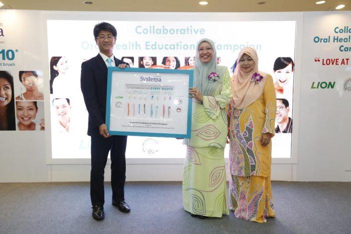 Kempen 'Love At First Brush' Gabungan Systema & Persatuan Juruterapi Pergigian Malaysia