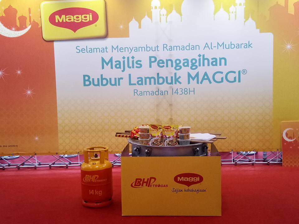 MAGGI® Berkongsi Bubur Lambuk Dengan Rakyat Malaysia