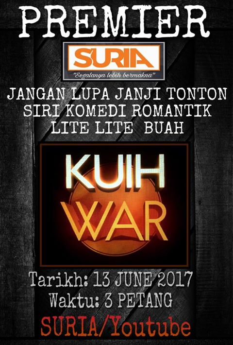 Kuih War di Suria Tv & Youtube