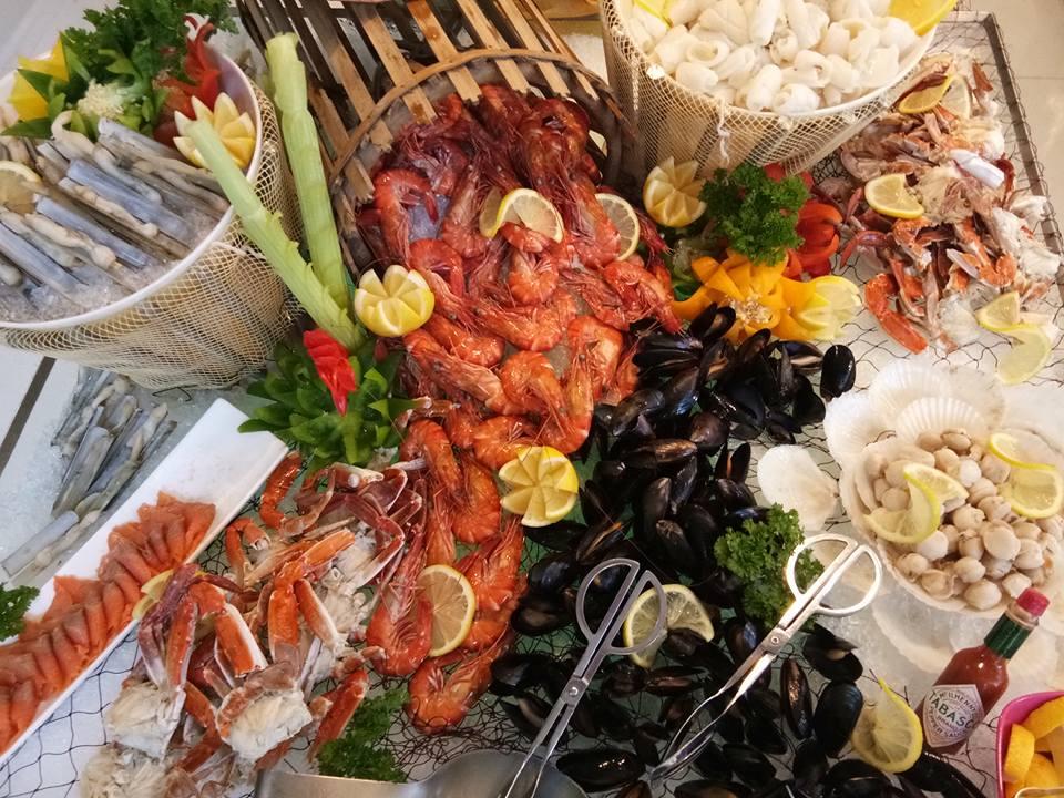 Treasures The Sea Buffet di Nook, Aloft Kuala Lumpur Sentral