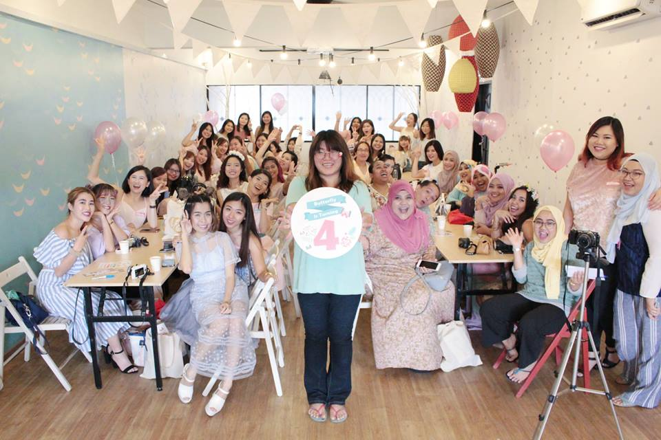 The Butterfly's Project Turns 4 Birthday Party at Hello Deer