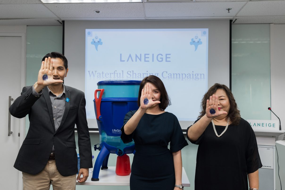 Laneige's Waterful Sharing Campaign For Rural Communities
