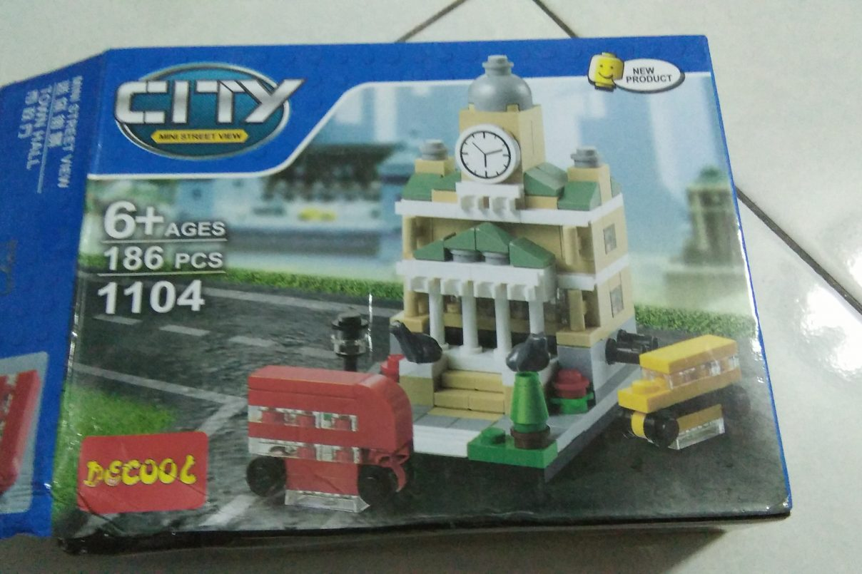 Town Hall ; LEGO Collection Terbaru Dalam Kitepunye