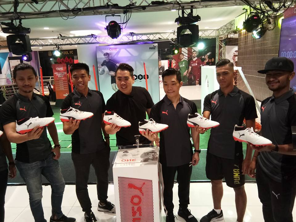 'The Perfect ONE Challenge' by PUMA ONE Football Boot in Malaysia