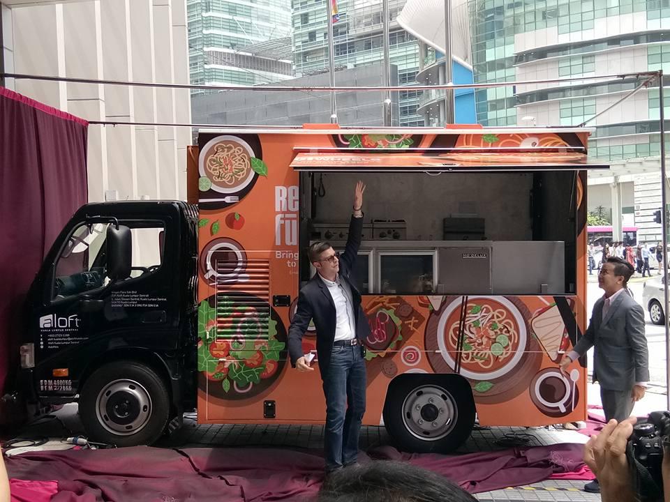 Re:Fuels On Wheel - Food Truck Aloft Hotel Pertama DiLancarkan