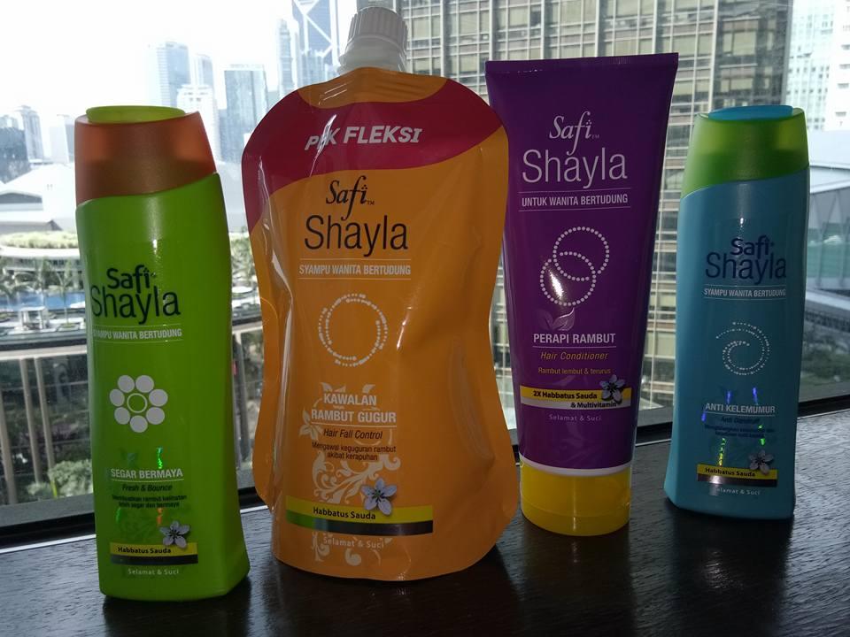 #hanyasafishaylauntuksaya Pilihan Syampu Berhijab Untuk Anda