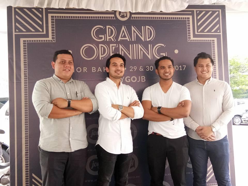 JOY Design Studio Melebarkan Sayapnya di Selatan Tanahair Johor Bahru