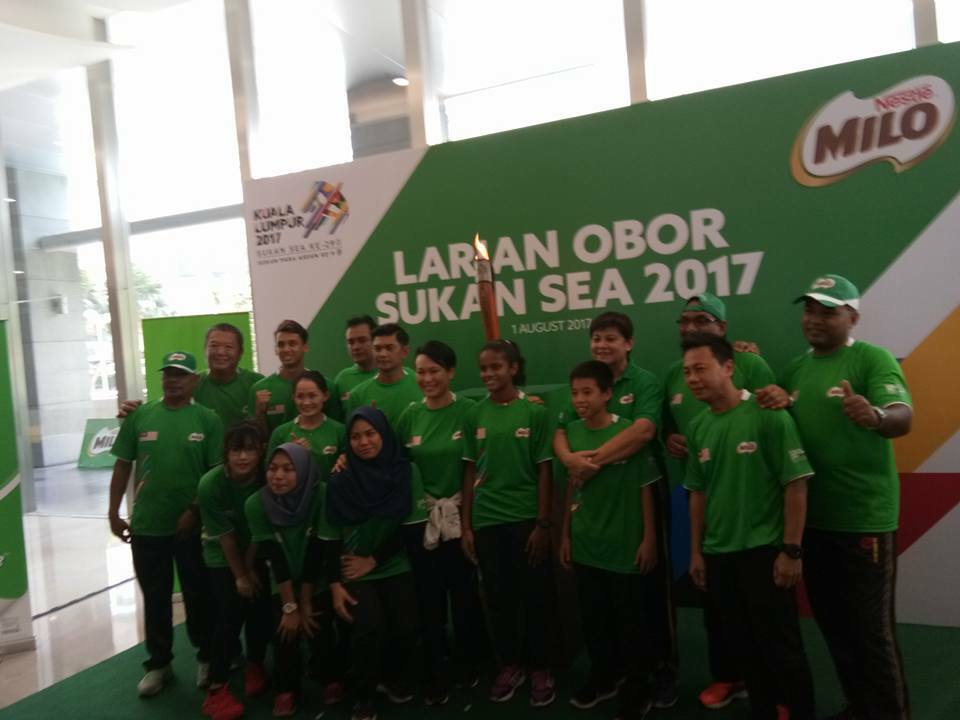 Larian Obor Kuala Lumpur 2017 & MILO Semarakkan Semangat Sukan