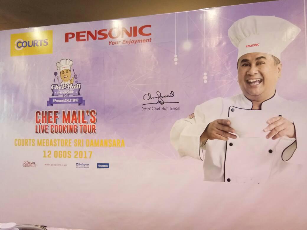 Bengkel Memasak Bersama Chef Ismail , Pensonic & COURTS Malaysia