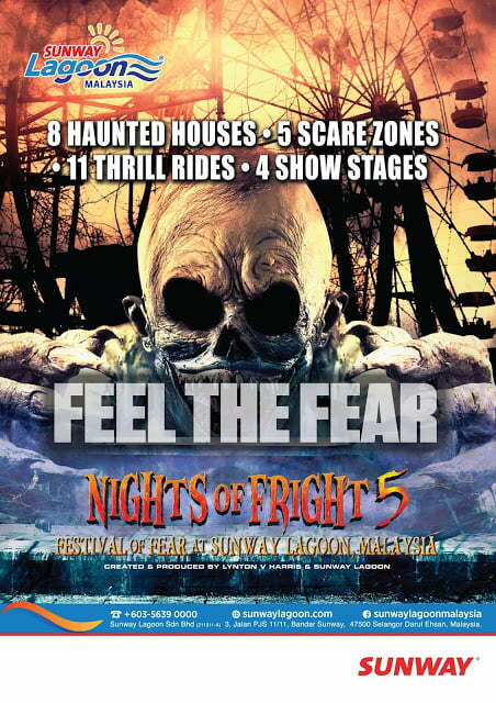 Nights of Fright 5 Is Back , It's Time To Feel The Fear Nights of Fright 5 Is Back , It's Time To Feel The Fear