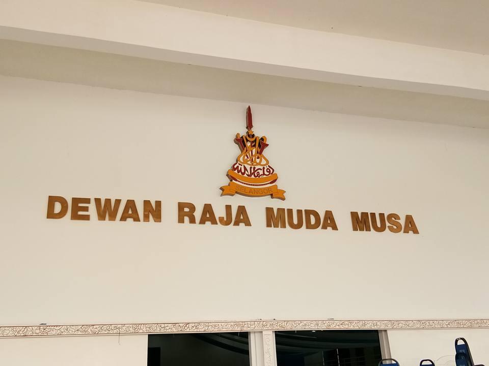 Dewan Raja Muda Musa Shah Alam Menjadi Tumpuan Untuk Majlis.....