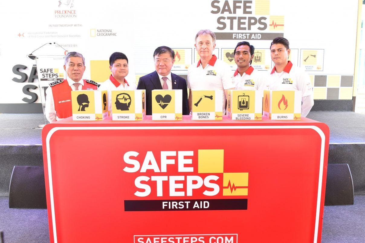 Kempen SAFE STEPS First Aid Merentasi Asia dari Yayasan Prudence