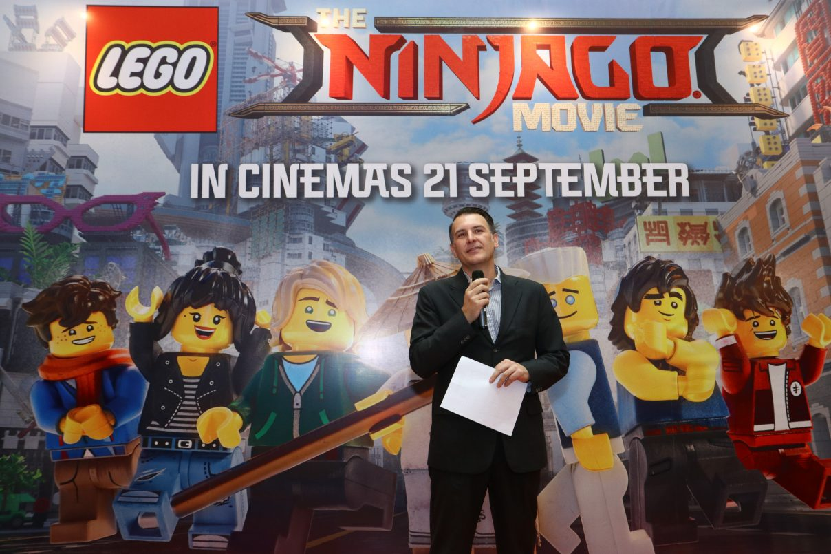 LEGO® NINJAGO® Movie Dan Masters Of Spinjitsu di Sunway Pyramid
