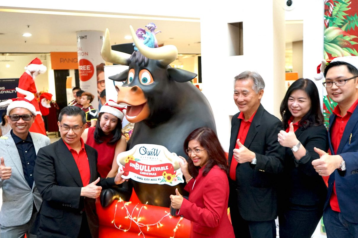An UnBULLievable Christmas Di Quill City Mall Kuala Lumpur