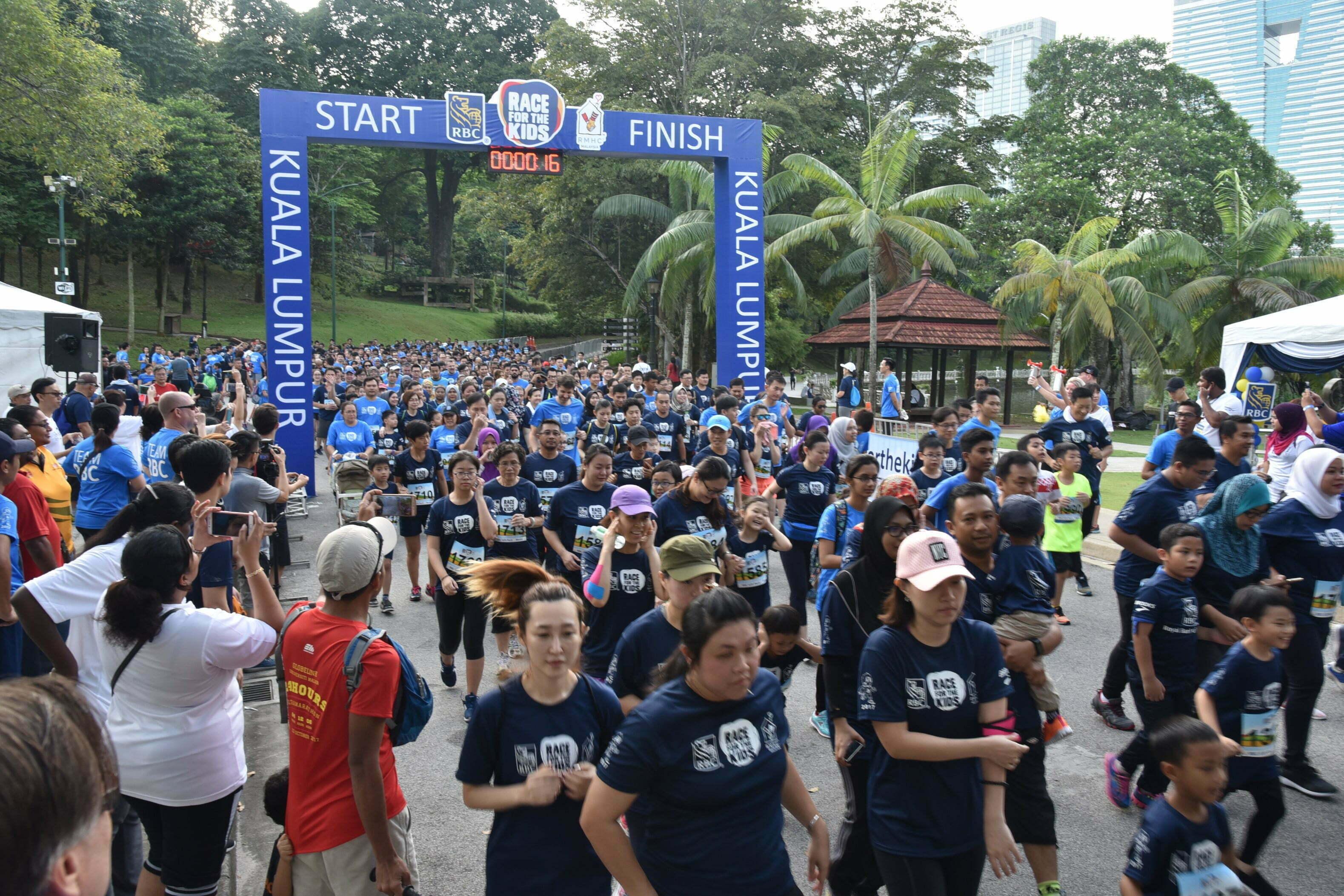 RBC Race for the Kids KL Berjaya Mengumpul Sebanyak RM200,000