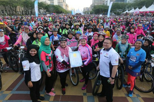 SiaranThe Malaysia Book of Records 2017 di TV1