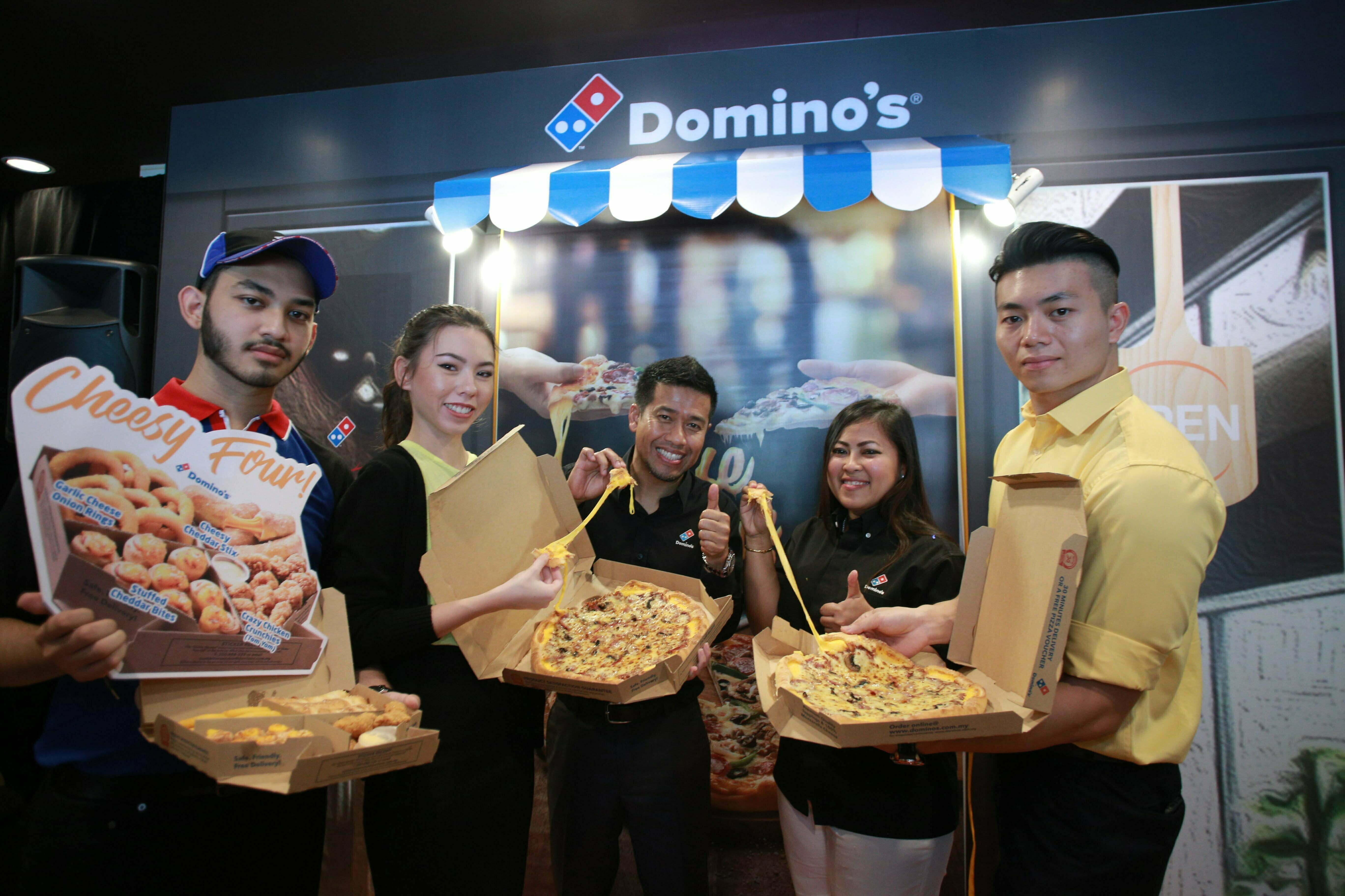 Cheese Tarik Crust Menu Terbaharu Dari Domino's!