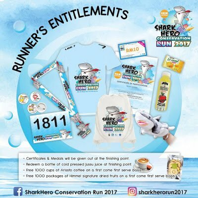 Jom Shark Hero Conservation Run 2017 Pada 18 November 2017