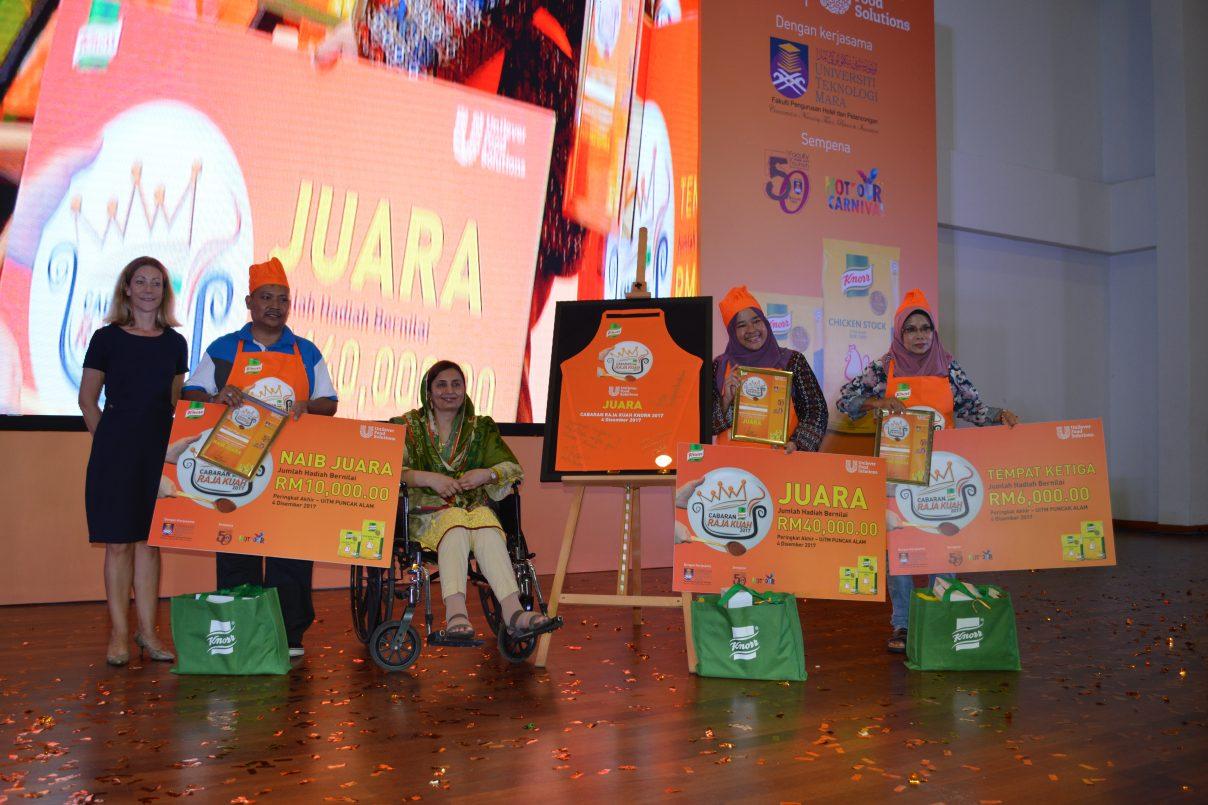 Cabaran Raja Kuah Knorr 2017 Dimenangi Oleh Nur Fakhira