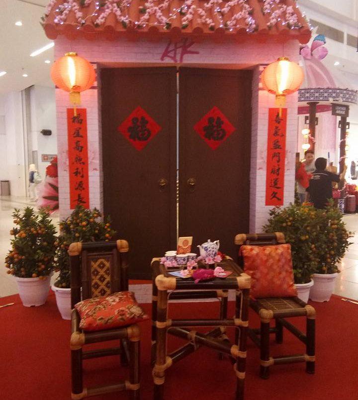 Bloom Of Grandeur di Avenue K Dengan Hiasan Bunga Oriental...