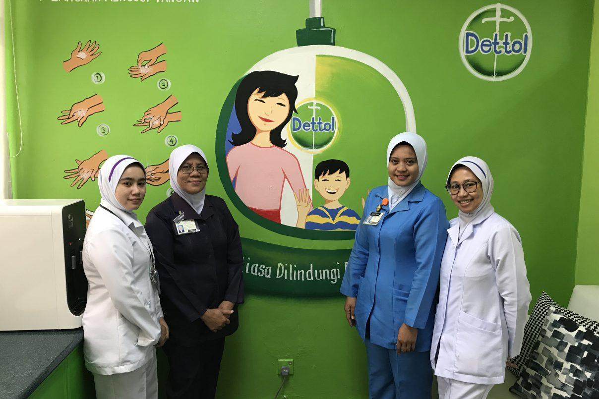 Bagi Program Ibu Baru Dettol Sasar Untuk Capai 100,000 Untuk 2018