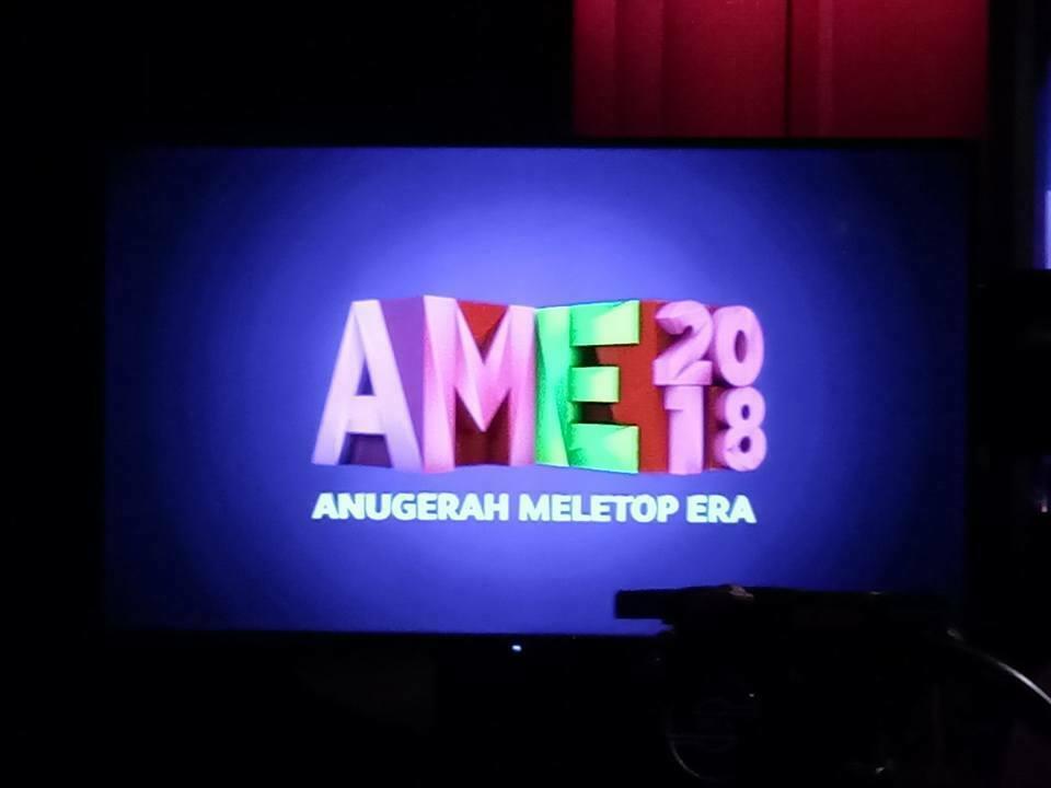 Anugerah MeleTOP Era (AME) 2018 Kembali Untuk Tahun Ke-5