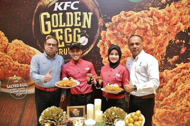 KFC Golden Egg Crunch Istimewa Sempena Tahun Baru Cina 2018