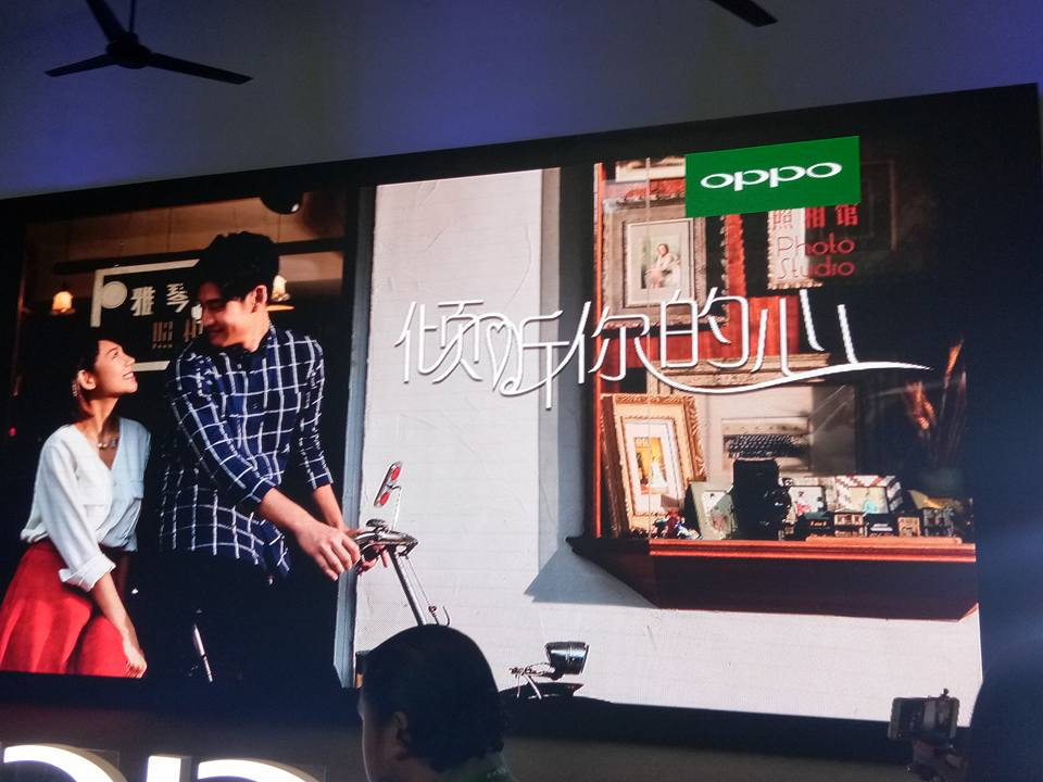 """OPPO F5 Dashing Blue Dalam """"Listen To Your Heart"""""""