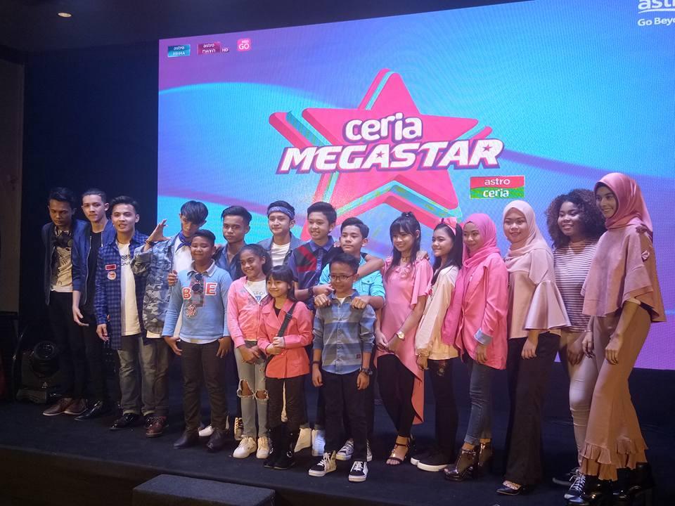 Ceria Megastar Himpun Juara & Finalis di Pentas Utama Mulai 2 Mac 2018
