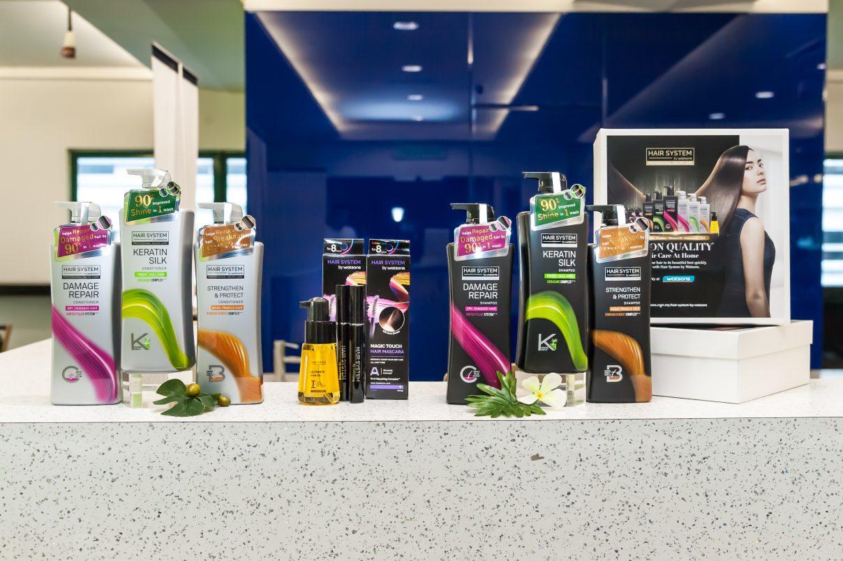 Hair System By Watsons Memberikan Rambut Berkualiti Seperti Di Salun