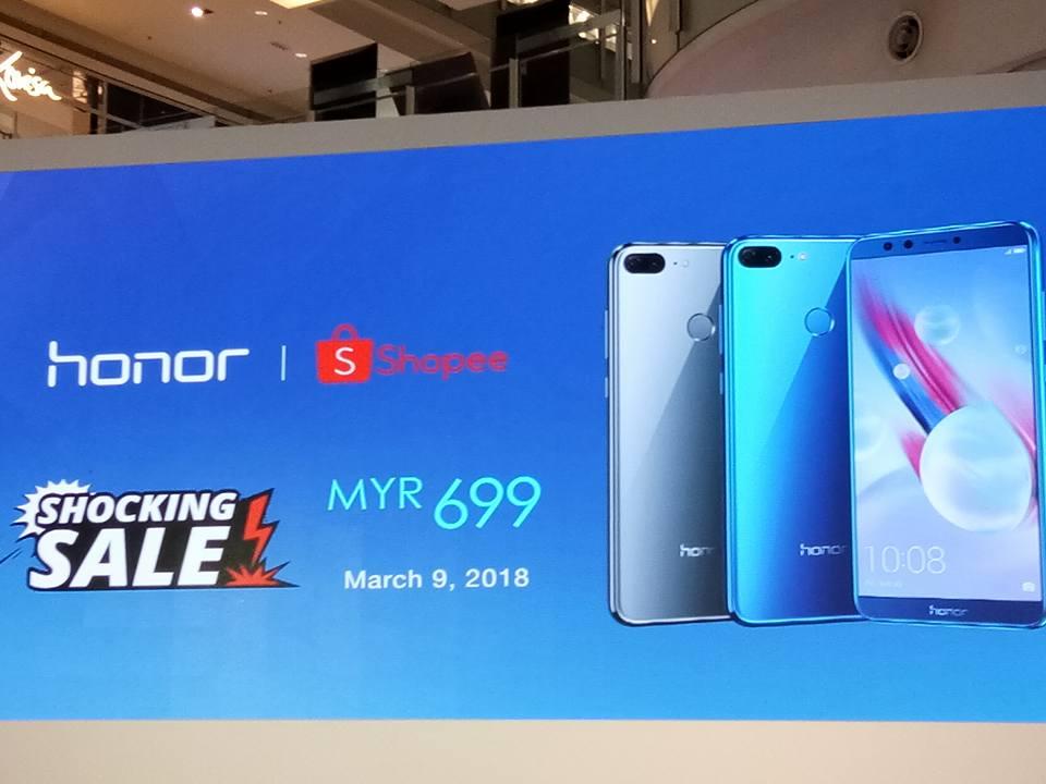 Honor 9 Lite Boleh Didapati Melalui Shopee Online Mulai 9 Mac 18