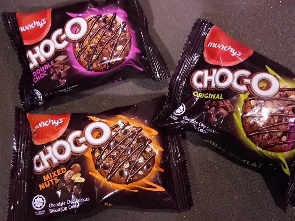 Munchy's Choc-O Menjanjikan Kenikmatan Jejalur Krim Coklat