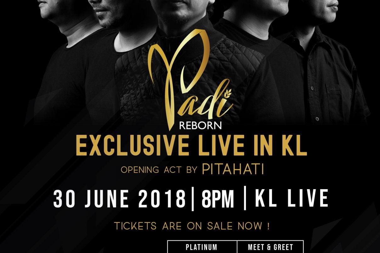 PADI Reborn Exclusive Live Buat Peminat di Kuala Lumpur